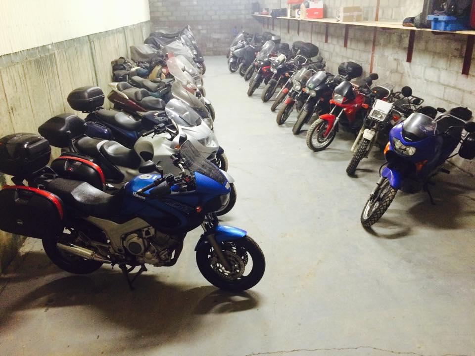 Motorcycle Storage. 1908105_779943672081614_572997674682511999_n